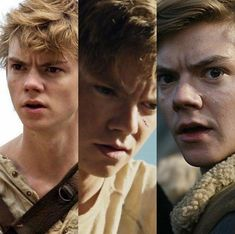one, two and three | newt | thomas brodie-sangster