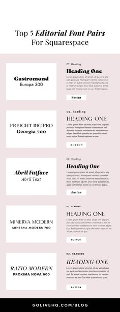71 Best FONT PAIRINGS images in 2019 | Fonts, Typography