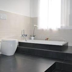 restyling - stanza da bagno: Bagno in stile in stile Minimalista di barbarapenninoarchitetto