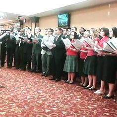 Singing for the visiting delegates at Brooklyn Bethel. Video shared by @vale_carrera96 Submit your photos etc…