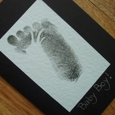 Baby Boy card by onelittlepug on Etsy, $2.25