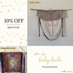 Today Only! 10% OFF this item. Follow us on Pinterest to be the first to see our exciting Daily Deals.  Today's Product: Gypsy Soul Artwork, Leather Furnishings, Original, Rustic natural shabby chic wall hanging, hand burned, Unique beaded home decor, Heart Art.  Buy now: https://orangetwig.com/shops/AAAm6G3/campaigns/AACDjZB?cb=2016002&sn=TheGypsyBirdcage&ch=pin&crid=AACDjY3&exid=266695026