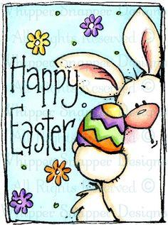 Easter Bunny & Egg = Item Number: #EY902