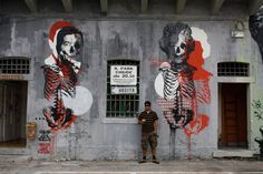 Orticanoodles is the work of Alita and Wally, a duo of Italian graffiti artists? (via #spinpicks)