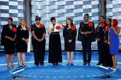 Mothers of the Movement speak - J. Scott Applewhite/AP