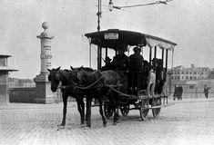 Omnibus a cavalli Good Old, Horses, History, Antiques, Animals, Rome, Photos, Antiquities, Historia