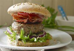 Grove hamburgerbrød | Elin LarsenElin Larsen