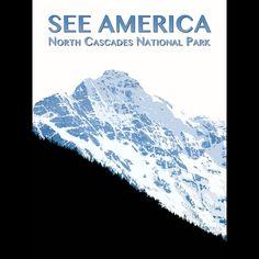 North Cascades National Park by Zack Frank  #SeeAmerica