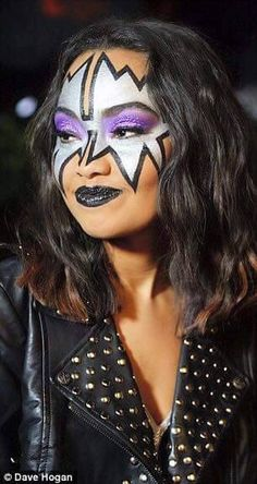 1000+ Images About Girls In KISS Makeup On Pinterest   Ga Ga Kiss And Eric Carr
