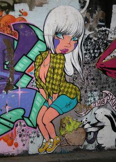 Melbourne Street Art - Near to Movida Graffiti Art, Urban Graffiti, Street Art Melbourne, Art Deco, Amazing Street Art, Art Series, Stencil Art, Street Artists, Public Art