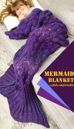 Christmas-Mermaid Blanket