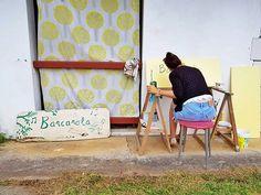 Cazada! Mimando la casita... @casabarcarola #heartmade #barcarolamoments #painting  #lifestyle