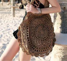 Women Big Bohemian Beach knitted Handbag – Univibe