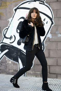 Vila Clothes jacket, Lovely Pepa X Krack boots, Chanel bag