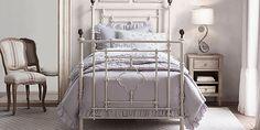 19th C. Quatrefoil Iron Bed Collection | RH baby&child