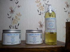 El trio OZONO VITA SPA en la tienda de krous® Cosmética Natural
