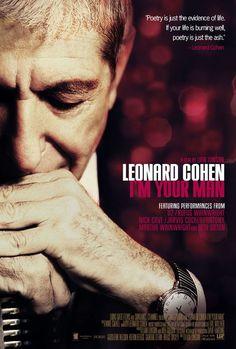 Leonard Cohen - I'm Your Man - Mini Print