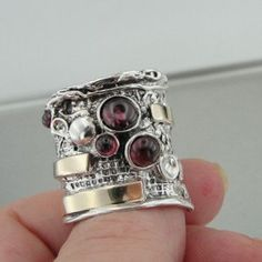 Logical Damen Ring Partnerring Sterling Silber Zirkonia Libelle Verlobungsring