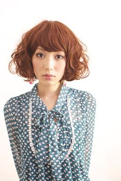 Hair Styles | Retro Curly Bob - Dali HAIR DESIGN / Atelier Salon