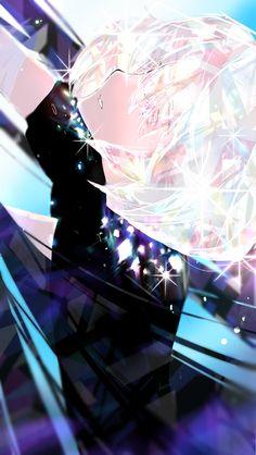 Zerochan anime image gallery for Houseki no Kuni (Land Of The Lustrous), Mobile Wallpaper. Manga Anime, Manga Art, Anime Guys, Anime Art, Desu Desu, Character Art, Character Design, Diamond Wallpaper, Another Anime