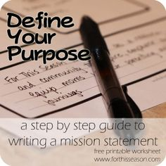 1000 Images About MIssion Statement Tips On Pinterest