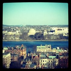 MIT across the Charles River as seen from Boston. DiscoverMIT.com.