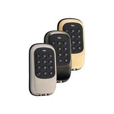 Yale Push Button Keyless Deadbolt Adt Pulse Approved Smart Lock Keyless Deadbolt Deadbolt Smart Deadbolt