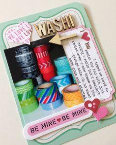 Project life -washi love