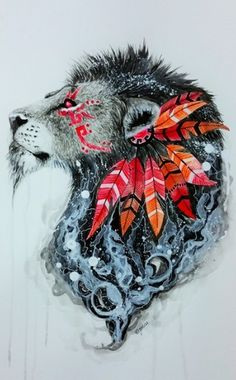 Most popular tags for this image include: lion, art, drawing, animal and Sketch Tattoo Design, Tattoo Sketches, Tattoo Drawings, Tattoo Designs, Lion Warrior, Logo D'art, Aquarell Tattoos, Lion Art, Desenho Tattoo