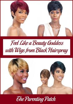 Black Hairspray offers wigs, weaves, lace front wigs, ponytails, braids, and beauty supplies including Remy hair stocked in a large collection of different brands. Women who prefer to wear wigs are sure to find a style to fit their tastes and needs. via @ParentingPatch