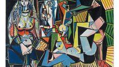 """FOTO Pablo Picasso """"Les femmes d'Alger"""" (Le donne di Algeri)"""