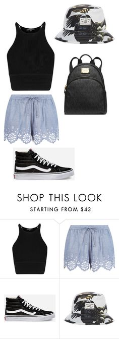 """""""Y'all should message me!"""" by batgirl-373 ❤ liked on Polyvore featuring Mode, Accessorize, Vans, Michael Kors, women's clothing, women, female, woman, misses und juniors"""