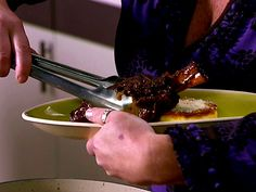 Braised Lamb Shanks Recipe : Anne Burrell : Food Network