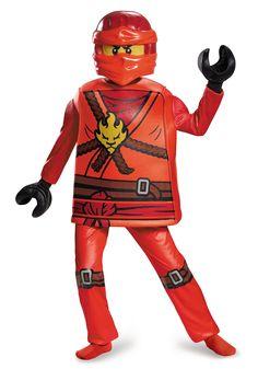 deluxe ninjago kai boys costume jay prestige  sc 1 st  Pinterest & LEGO Ninjago: Jay Kai u0026 Lloyd - Halloween Costume Contest at ...
