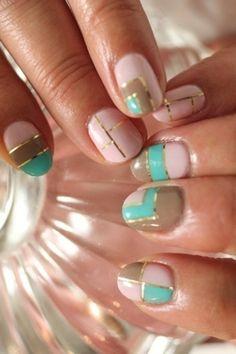 Nails to match the Melba Print Maxi Dress ❤️ #BastyanNails