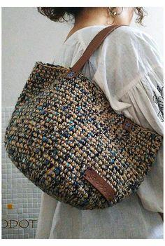 Crochet Market Bag, Crochet Tote, Crochet Handbags, Crochet Purses, Crochet Yarn, Free Crochet, Crochet Pattern, Crotchet Bags, Knitted Bags