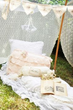 dream tent. Part of a fairy tale dream party. Open blog to see.