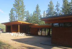 Vacation Cabin Design Winthrop, WA |Natural Modern Architecture Firm