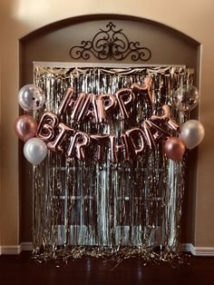 Cheers to 50 years 18 20 21 30 40 50 60 70 80 16 rose gold silver gold mylar balloons foil letters anniversary birthday decoration dreamjob 1001 + birthday party ideas for teens diy decor themes and games 50th Birthday Party Decorations, Gold Birthday Party, Birthday Party For Teens, Birthday Backdrop, 21 Birthday Balloons, Birthday Bash, 18th Birthday Decor, Party Themes For Teenagers, 18 Birthday Party Decorations