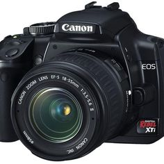 Canon EOS Digital Rebel XTi - front view