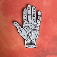 The Palmistry Pin                                                                                                                                                                                 More