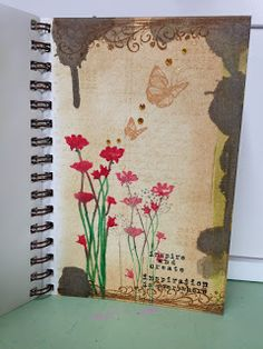 I have been working on making creative time every day, still. I have been making cards and working in my art journal. I love working in...