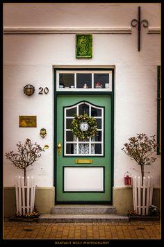 Die Tür von Hartmut Wulf (in Husum)