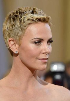 15 Best Charlize Theron Pixie Cuts | Haircuts - 2016 Hair - Hairstyle ideas and Trends