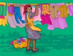 Wash day (80 pieces)