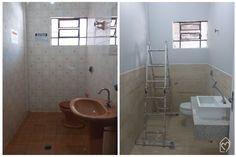 Diário de reforma do banheiro