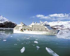 Seven Seas Navigator in Alaska