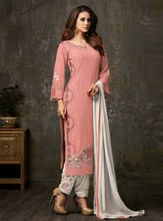 Looking to buy salwar kameez? ✓ Shop the latest dresses from India at Lashkaraa & get a wide range of salwar kameez from party wear to casual salwar suits! Pakistani Bridal Dresses, Pakistani Suits, Indian Dresses, Indian Outfits, Pakistani Suit With Pants, Designer Salwar Suits, Designer Dresses, Fashion Pants, Fashion Dresses