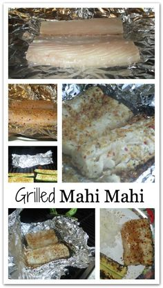 Grilled Mahi Mahi with Roasted Garlic and Herbs - this is much easier and tastier than you might think!