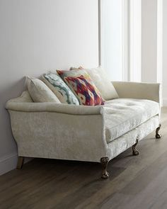 """""""Ginger Fiesta"""" Sofa by Old Hickory Tannery at Neiman Marcus. BEAUTY"""